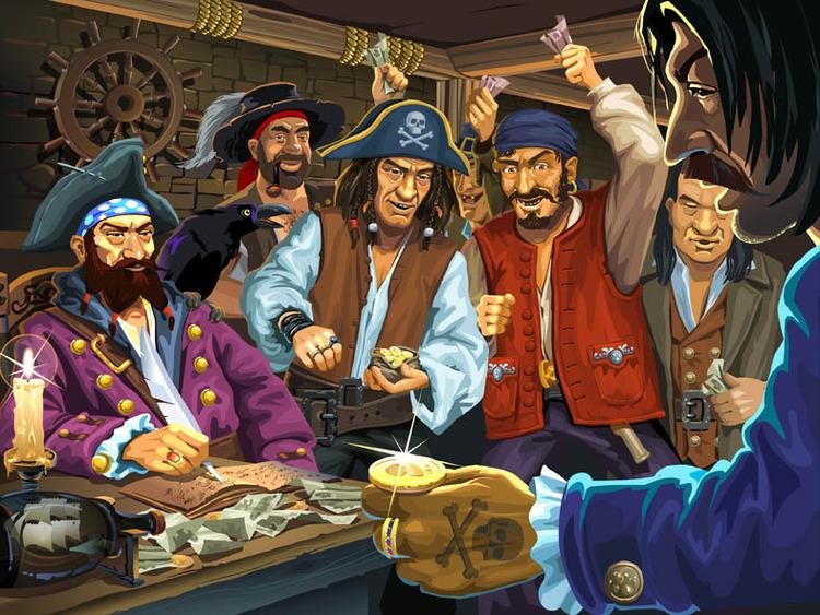 Три лучших пиратских игр клуба Вулкан