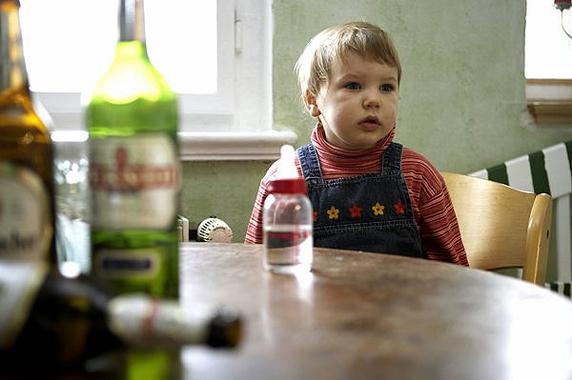 Если папа пьет