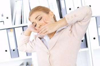 Быстрая утомляемость на работе может стать одним из признаков дефицита железа