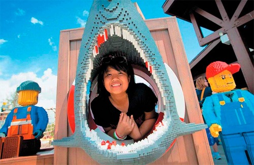 Парк развлечений Legoland во Флориде