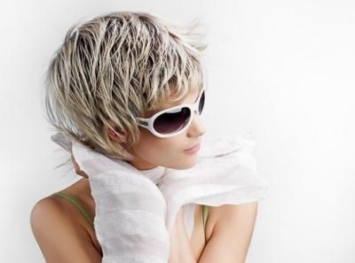 Как правильно мелировать волосы