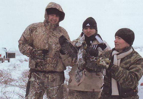 Особенности таджикской национальной охоты