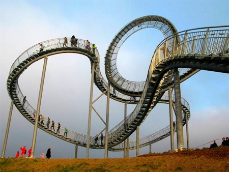 Аттракцион «Tiger and Turtle - Magic Mountain»